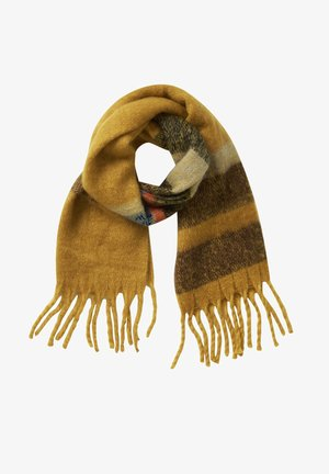Scarf - yellow-taupe