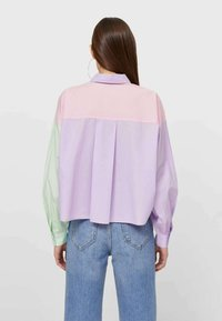Stradivarius - Button-down blouse - multi-coloured - 2