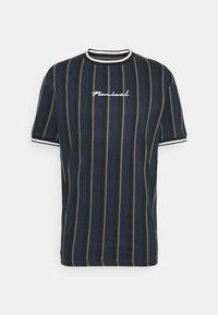 Nominal - FINLEY - Print T-shirt - navy - 0