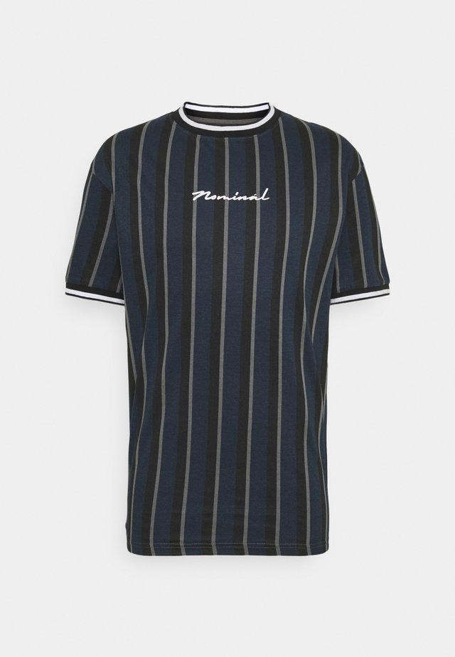 FINLEY - T-shirt med print - navy