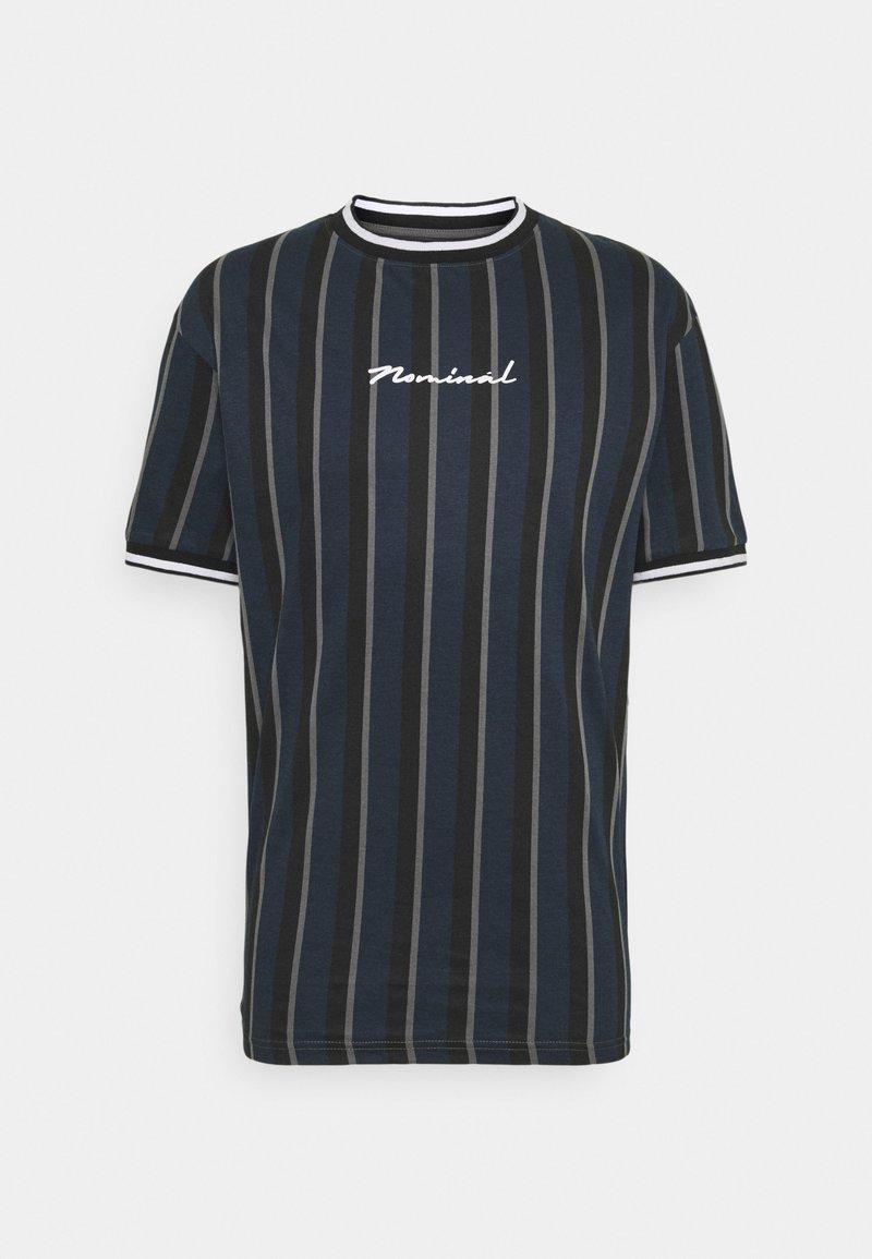 Nominal - FINLEY - Print T-shirt - navy
