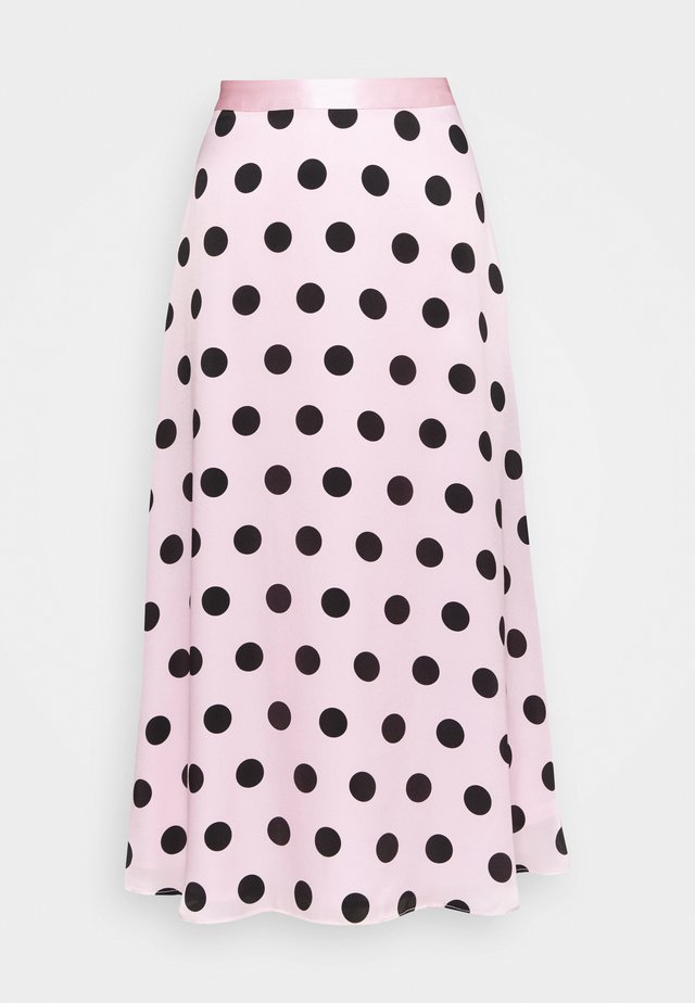 PENELOPE SKIRT - Gonna a campana - black / pink