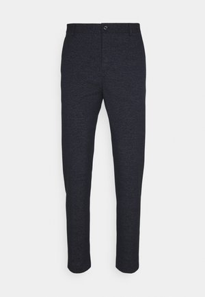 STRETCH PANTS - Trousers - blue