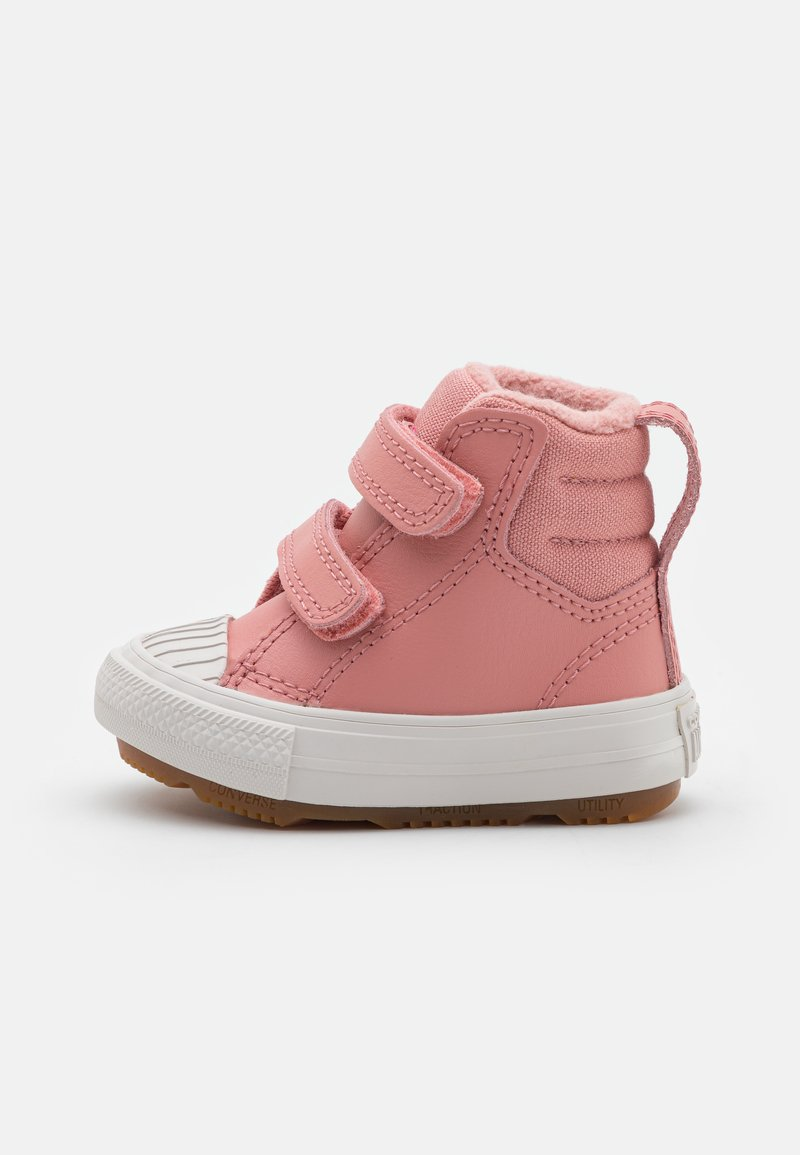 Converse - CHUCK TAYLOR ALL STAR BERKSHIRE  - High-top trainers - rust pink/pale putty