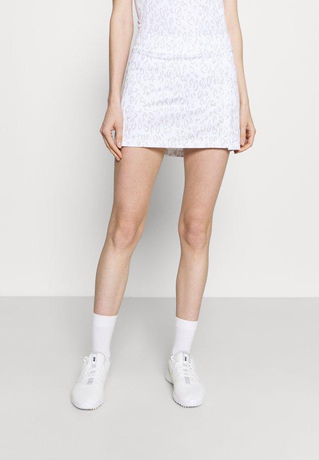 AMELIE GOLF SKIRT - Sports skirt - grey/white