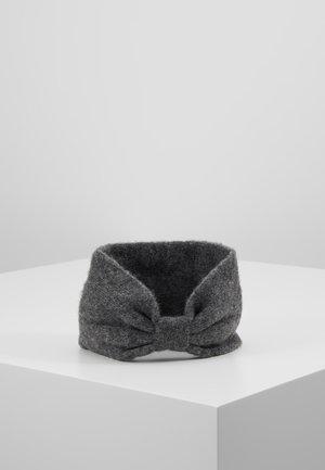 Ear warmers - dark grey melange