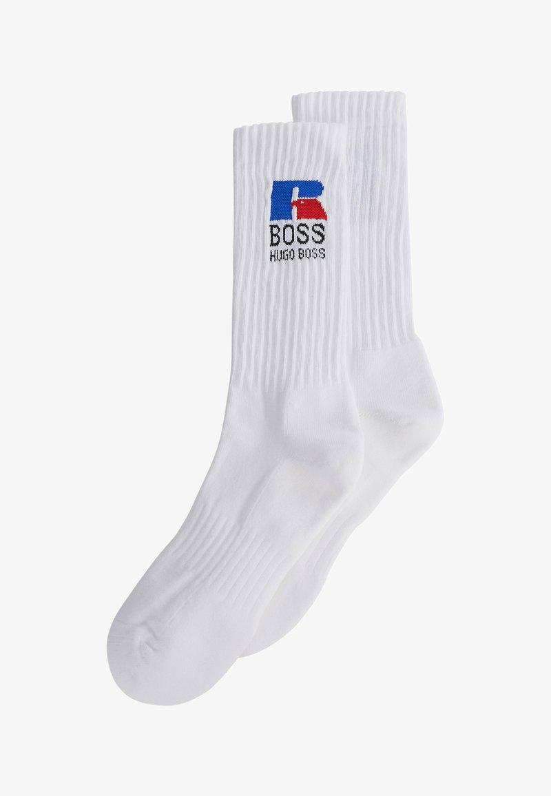 BOSS - QS RUSSELL CC_RA - Socks - white