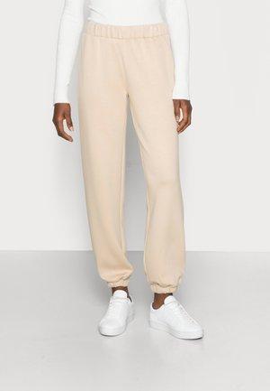 IMA PANTS - Spodnie treningowe - white pepper