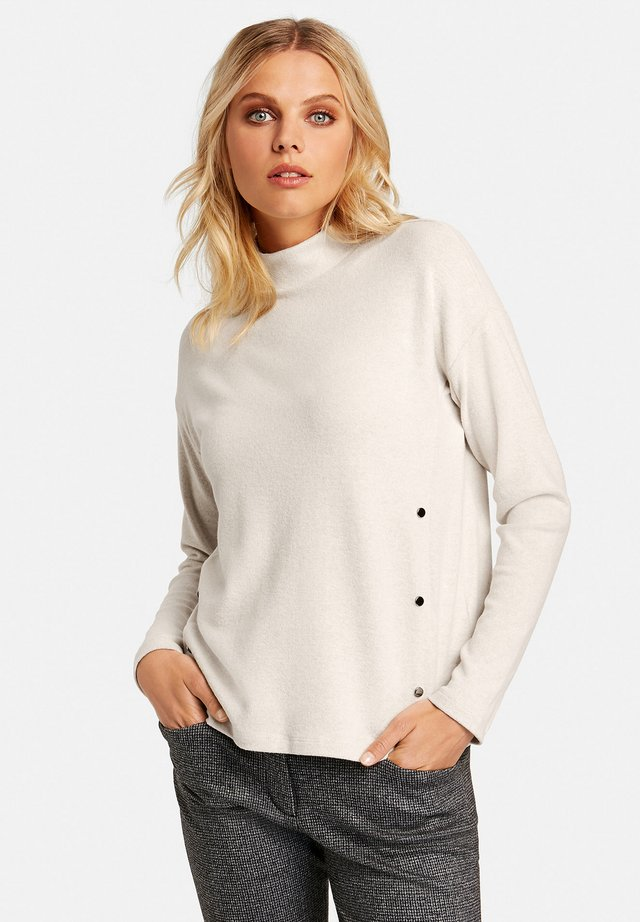 Sweatshirt - winter white melange