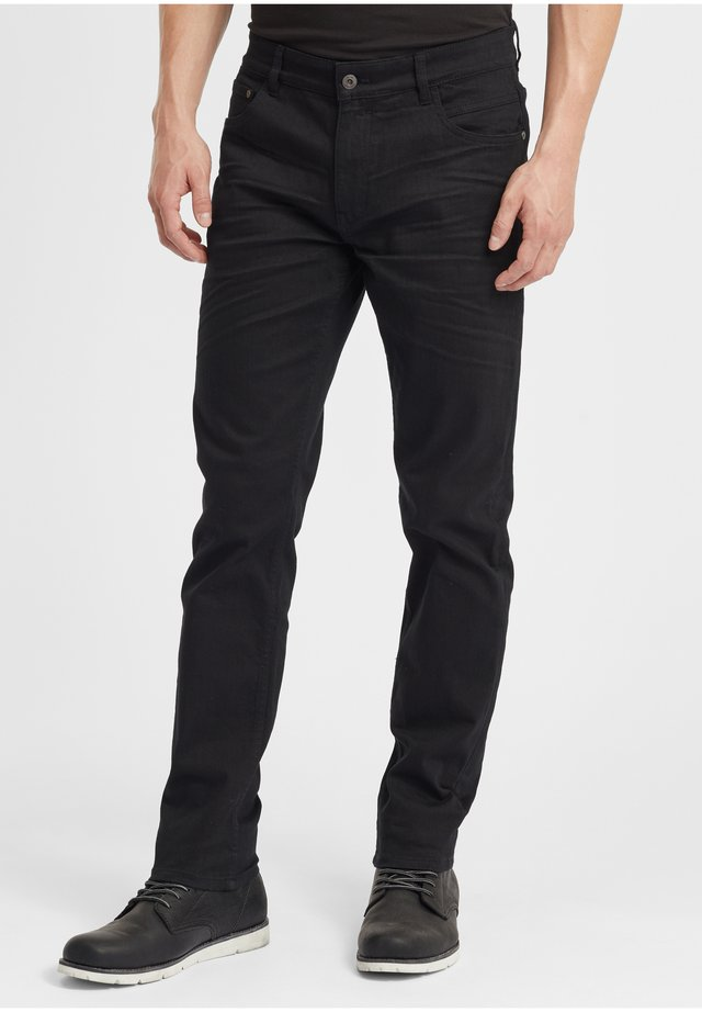 FYNN - Jeans Straight Leg - black denim