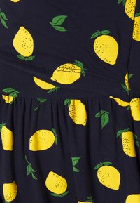 Anna Field MAMA - NURSING Jersey dress - Trikoomekko - dark blue/yellow - 2