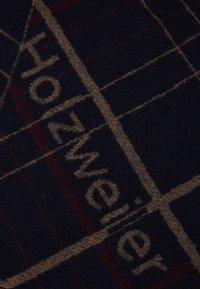 Holzweiler - TABLEAU UNISEX - Scarf - dark blue - 2