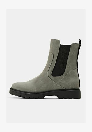 LOGO - Ankle boots - grey