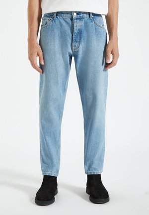 IM FIVE-POCKET-STIL - Straight leg jeans - dark-blue denim