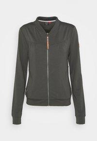 KENIA - Zip-up hoodie - green