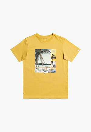 HIDDEN COVE - Print T-shirt - rattan