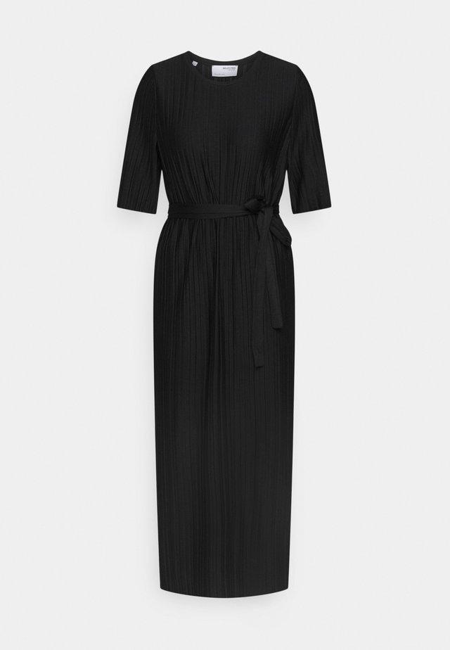 SLFTERLE 2/4 MIDI DRESS - Korte jurk - black