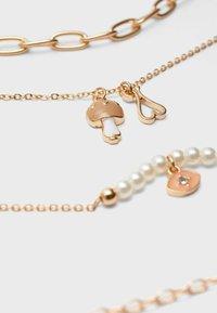 Stradivarius - 4 PACK - Necklace - gold - 4