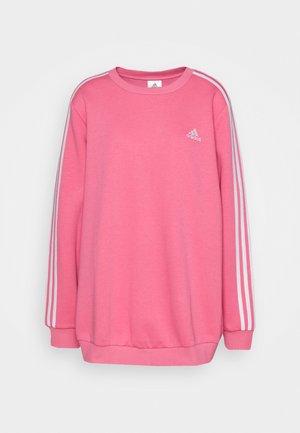 Sweatshirt - rose tone/white