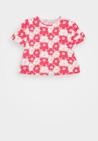 Marimekko - TELTTA UNIKKO - Jersey dress - beige/pink/white - 0