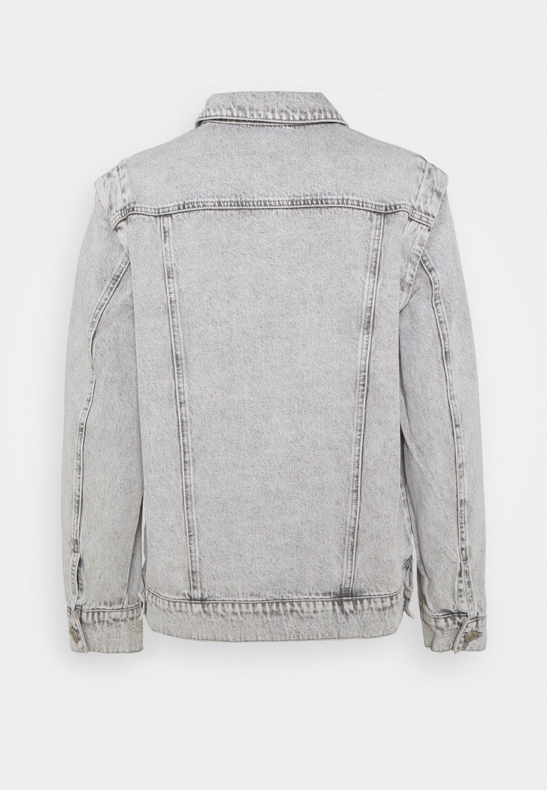 Women NMFIONA JACKET - Denim jacket