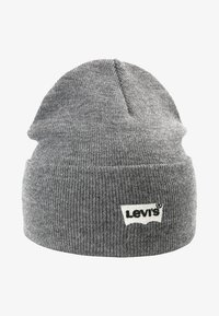 Levi's® - BATWING EMBROIDERED SLOUCHY BEANIE - Berretto - regular grey - 4