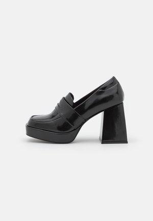 VEGAN BENNY LOAFER - Classic heels - black