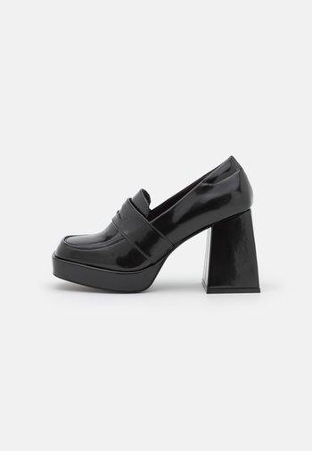 VEGAN BENNY LOAFER - Klassiske pumps - black