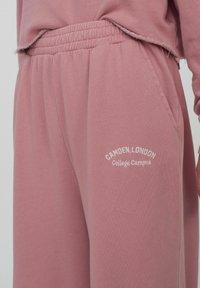 PULL&BEAR - Pantalon de survêtement - rose - 2