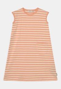 Marimekko - LUOSTOKKA TASARAITA - Jersey dress - off white/light apricot - 0