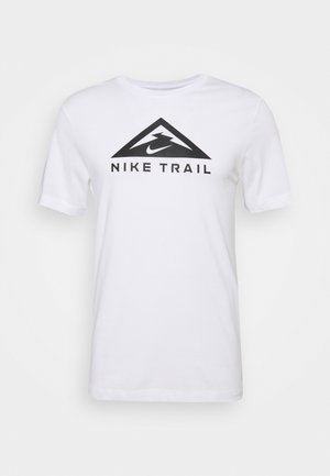 TEE TRAIL - T-shirt imprimé - white