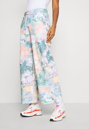 WIDE LEG JOGGER - Teplákové kalhoty - multi-coloured