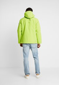 Napapijri - RAINFOREST WINTER - Windbreakers - yellow lime - 2