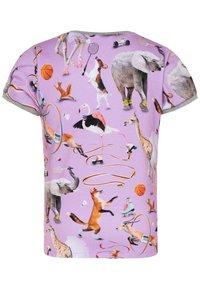 Molo - RIMONA - Print T-shirt - lilac - 1