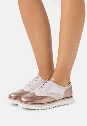 Derbies - rose metallic
