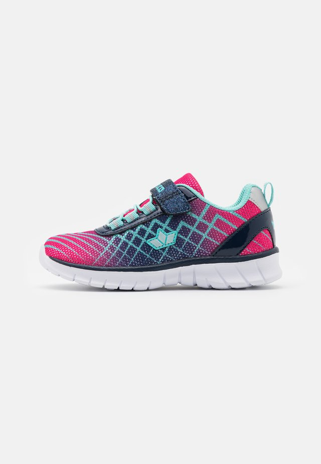 LENJA - Sneaker low - pink/marine/türkis