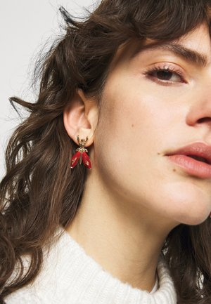 ORECCHINI EARRINGS - Oorbellen - marble red