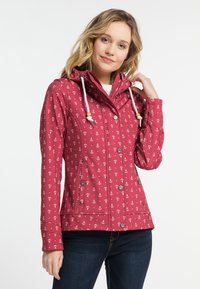 Schmuddelwedda - Outdoor jacket - red - 0