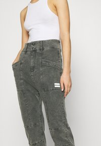 10DAYS - HIGH WAIST  - Relaxed fit jeans - grey - 5