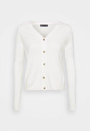 V CARDI - Cardigan - off-white