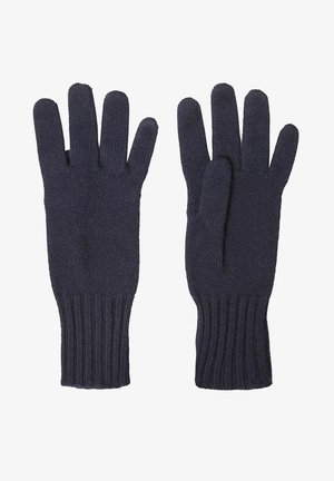 Gloves - blue navy