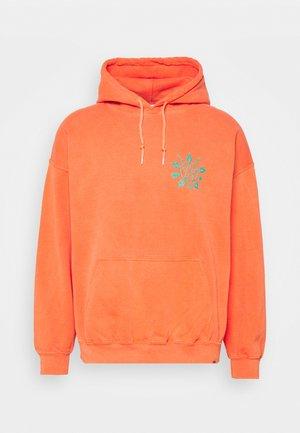 PENTAGRAM GRAPHIC HOODIE  - Sweatshirt - orange