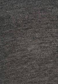 Pieces - PCPAM HIGH NECK - Jumper - dark grey melange - 5