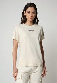Napapijri - T-shirt imprimé - new milk - 0