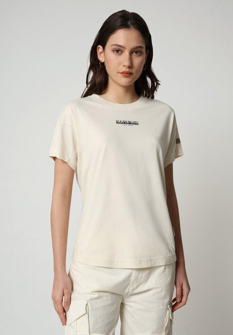 Napapijri - T-shirt imprimé - new milk