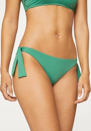 MIT BINDEDETAILS - Bikini bottoms - evergreen