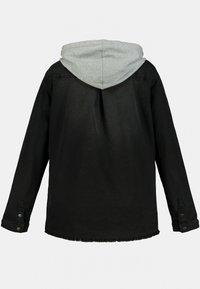 Ulla Popken - Denim jacket - black - 2