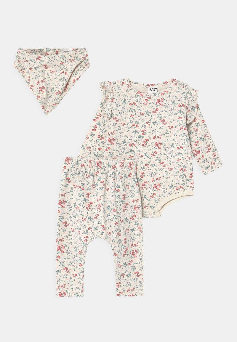 Cotton On - BUNDLE SET - Trousers - dark vanilla