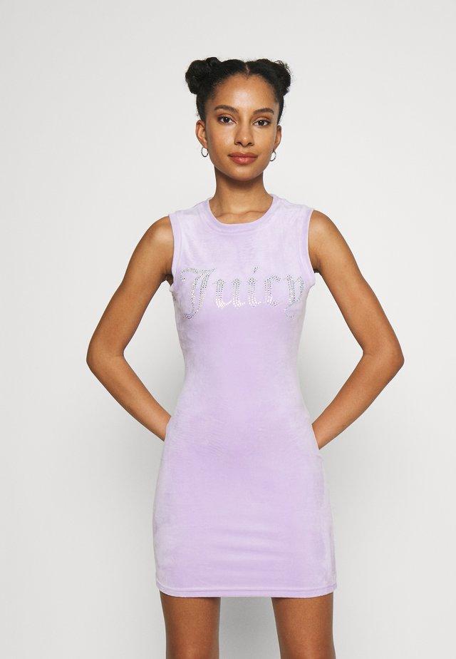 YASMINA DRESS - Jersey dress - pastel lilac