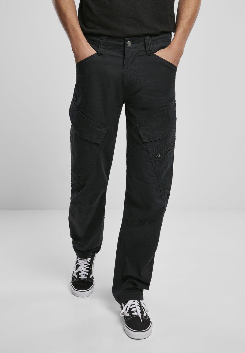 Brandit - ACCESSOIRES ADVEN  - Cargo trousers - black